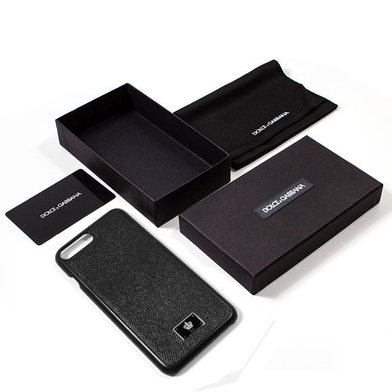 Carcasa iPhone 7 Plus / iPhone 8 Plus Licencia Dolce Gabbana Liso Negro