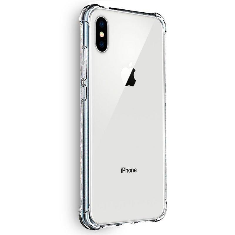 Carcasa iPhone X / iPhone XS AntiShock Transparente
