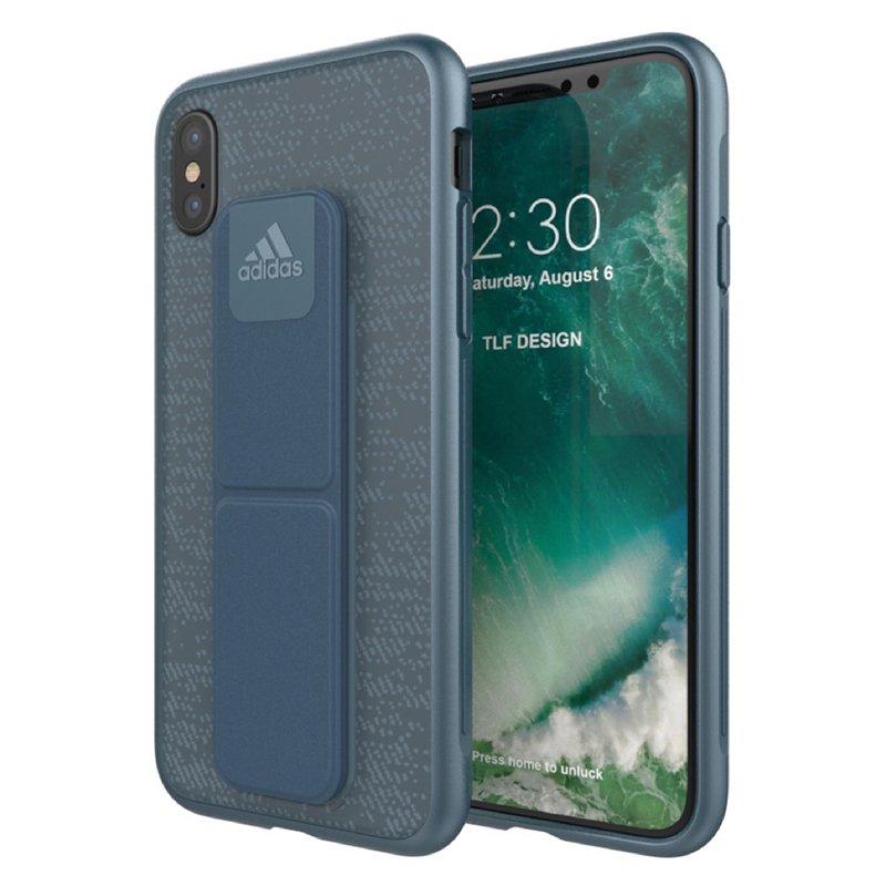 Carcasa iPhone X / iPhone XS Licencia Adidas Grip Case Azul