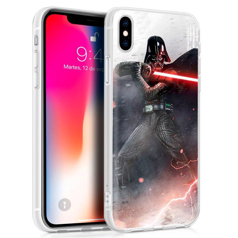 Carcasa iPhone X / iPhone XS Licencia Star Wars Darth Vader