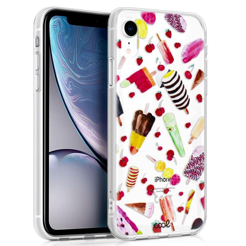 Carcasa iPhone XR Clear Helados