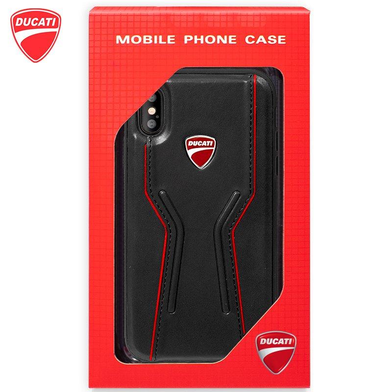 Carcasa iPhone XS Max Licencia Ducati Hard Negro