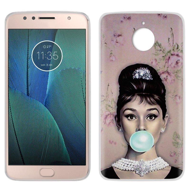 Carcasa Motorola Moto G5S Plus Dibujos Audrey