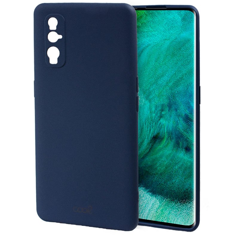 Carcasa Oppo Find X2 Cover Azul