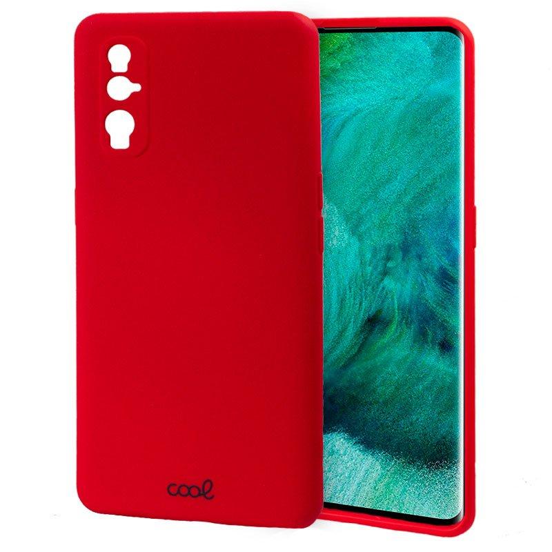 Carcasa Oppo Find X2 Cover Rojo