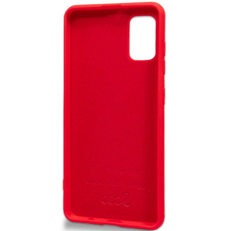 Carcasa Samsung A415 Galaxy A41 Cover Rojo