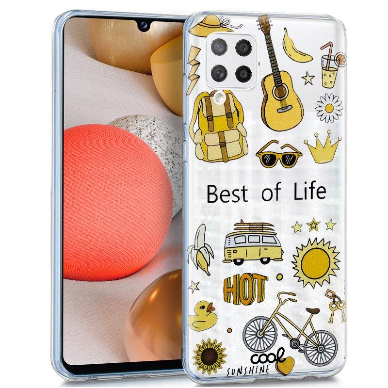 Carcasa Samsung A426 Galaxy A42 5G Clear Life