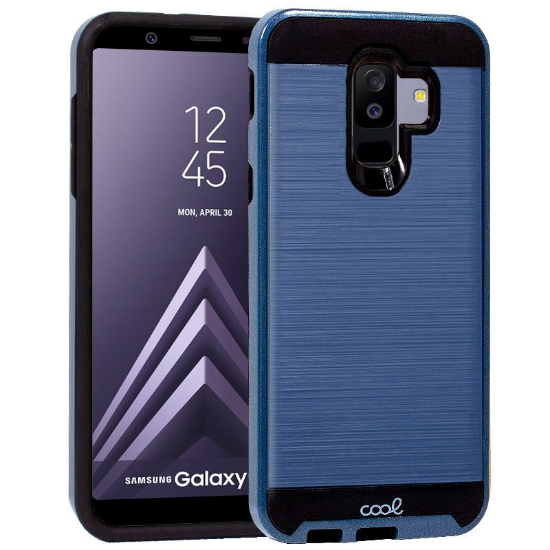 Carcasa Samsung A605 Galaxy A6 Plus Aluminio (Azul)