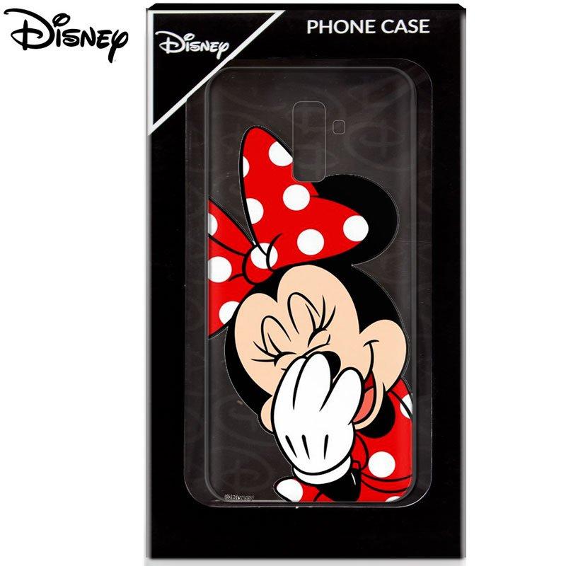 Carcasa Samsung A605 Galaxy A6 Plus Licencia Disney Minnie Clear