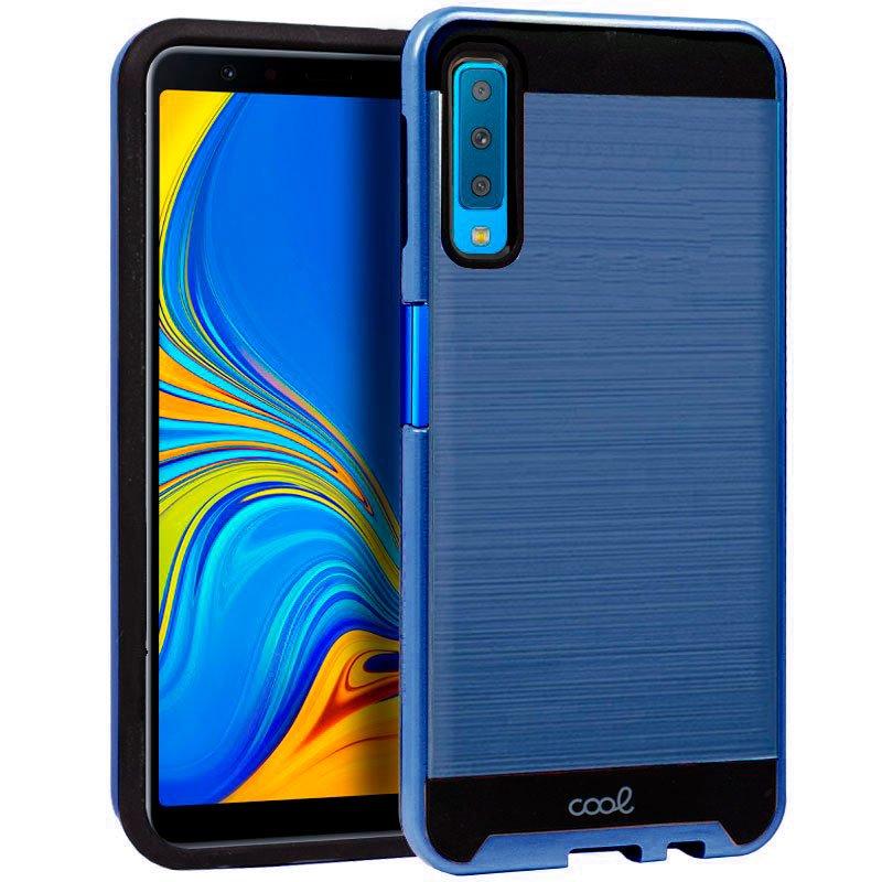 Carcasa Samsung A750 Galaxy A7 Aluminio (Azul)