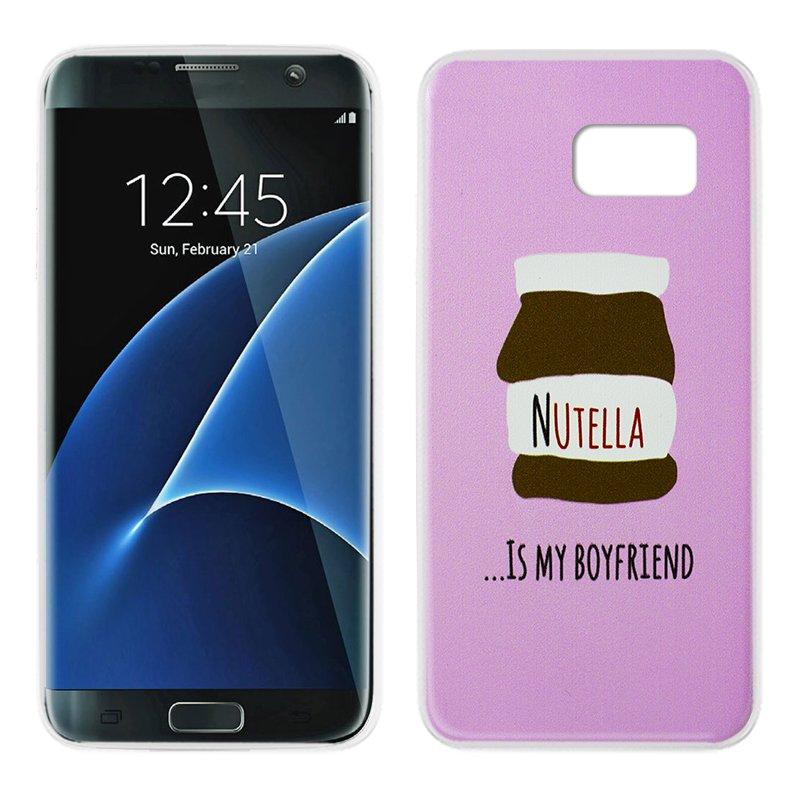 Carcasa Samsung G935 Galaxy S7 Edge Dibujos Chocolate