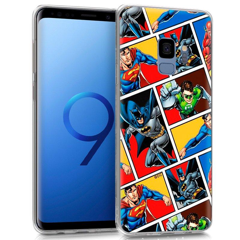 Carcasa Samsung G960 Galaxy S9 Licencia DC Liga Justicia