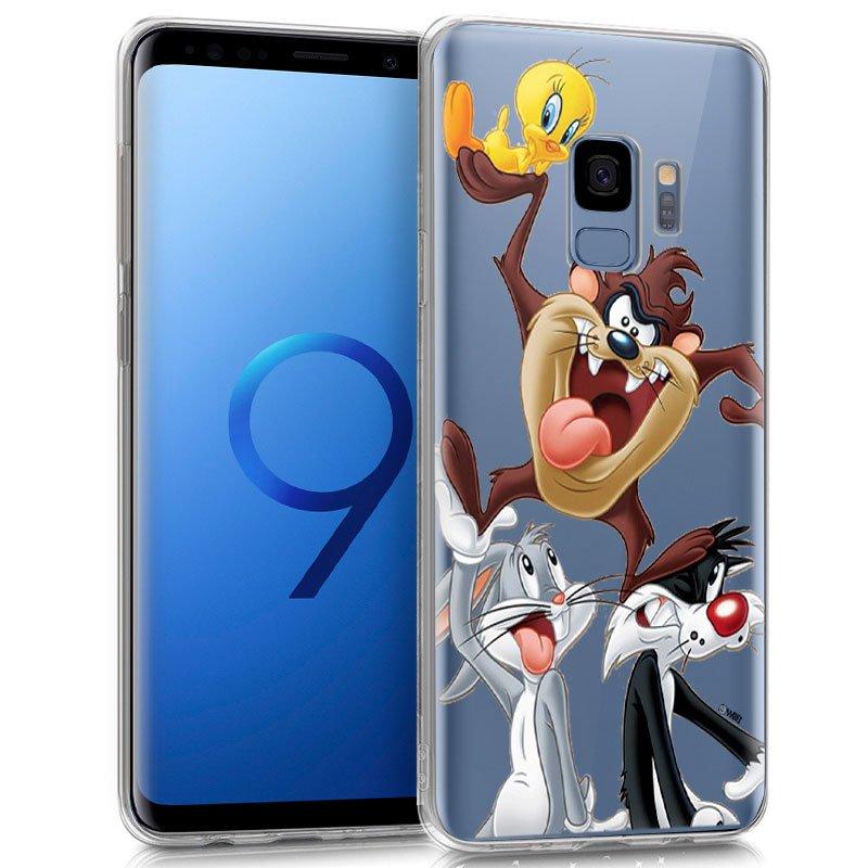 Carcasa Samsung G960 Galaxy S9 Licencia Looney Tunes Tasmania