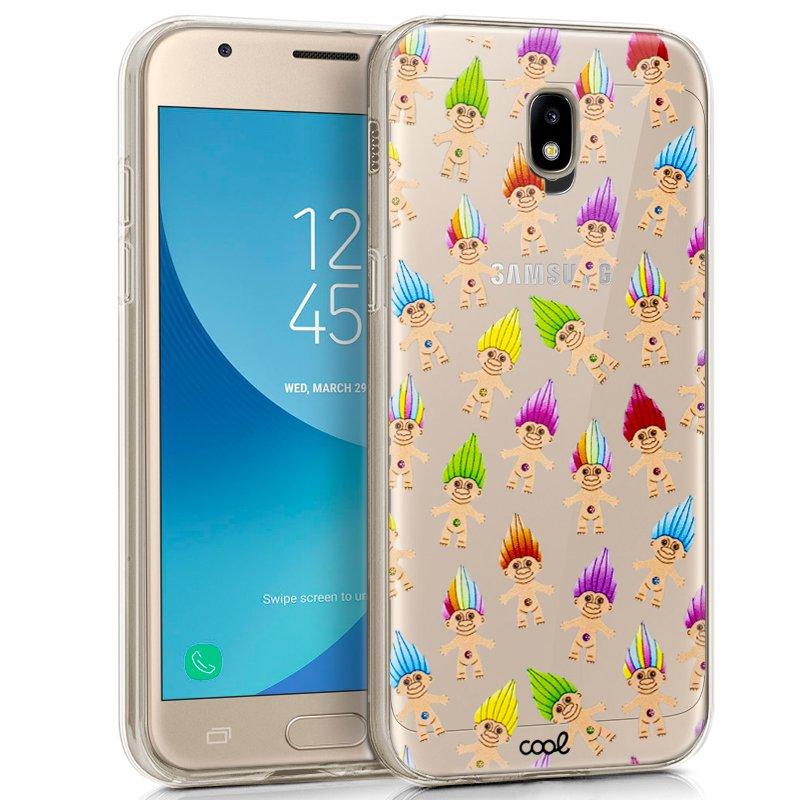 Carcasa Samsung J330 Galaxy J3 (2017) Clear Trolls