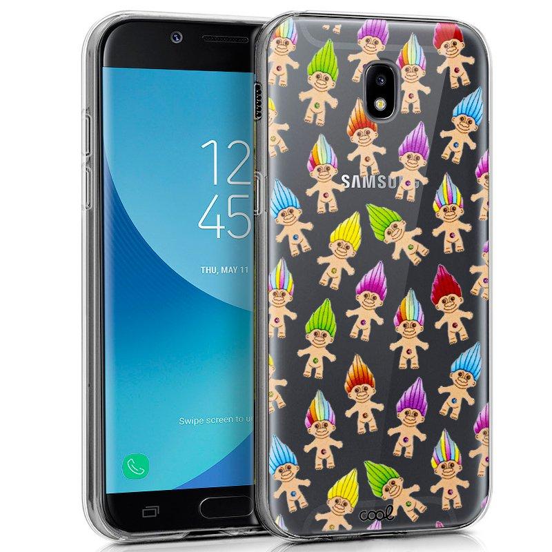 Carcasa Samsung J730 Galaxy J7 (2017) Clear Trolls