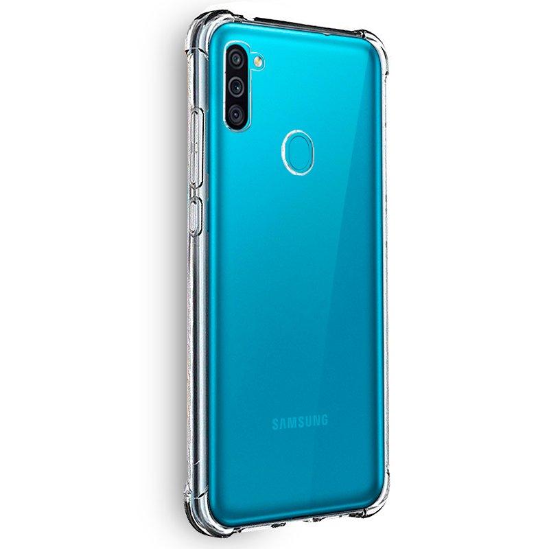 Carcasa Samsung M115 Galaxy M11 / A11 AntiShock Transparente