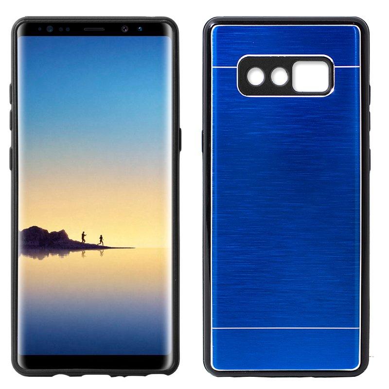 Carcasa Samsung N950 Galaxy Note 8 Aluminio Azul