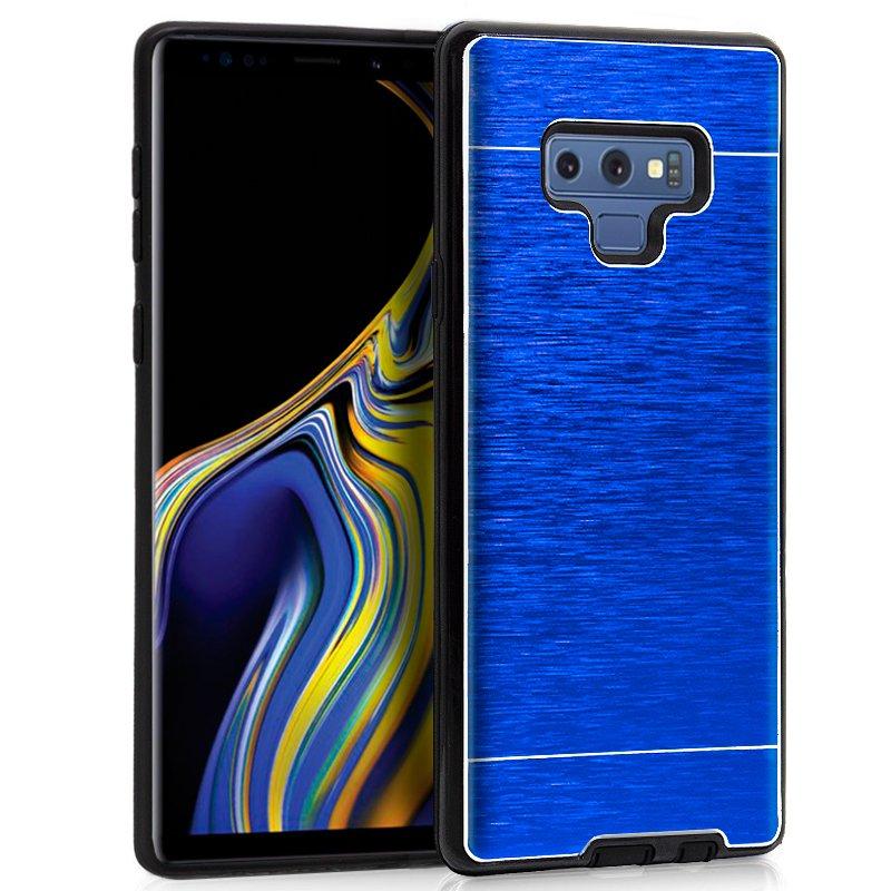 Carcasa Samsung N960 Galaxy Note 9 Aluminio Azul