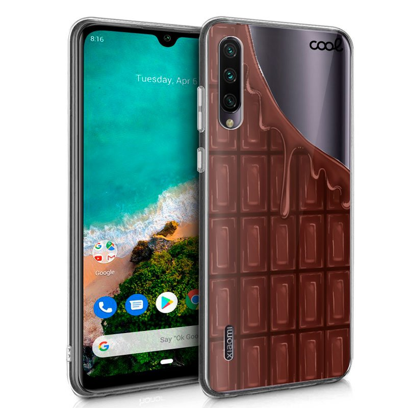 Carcasa Xiaomi Mi A3 Clear Chocolate