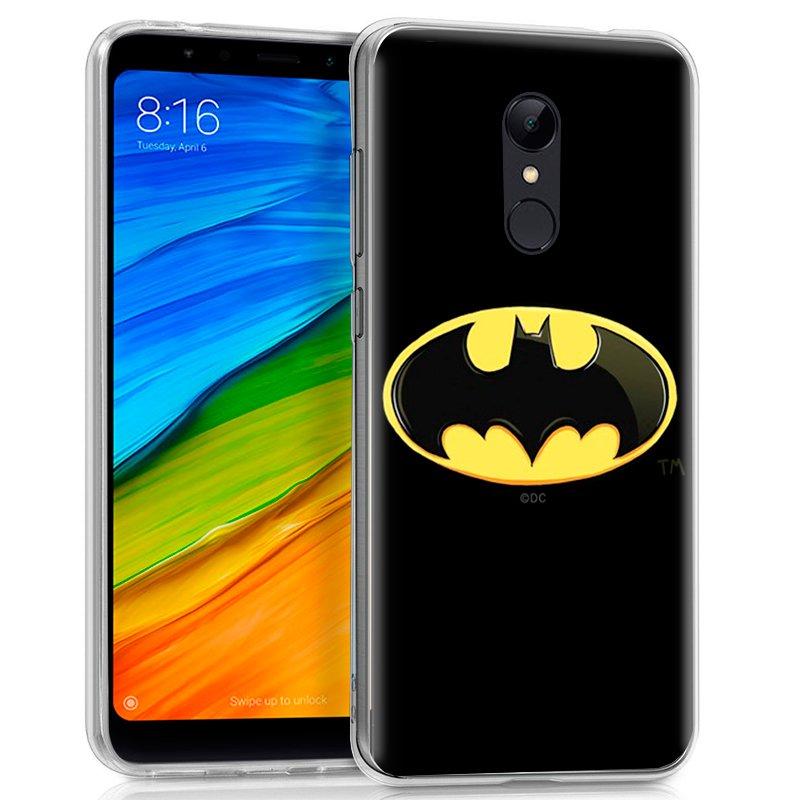 Carcasa Xiaomi Redmi 5 Licencia DC Batman