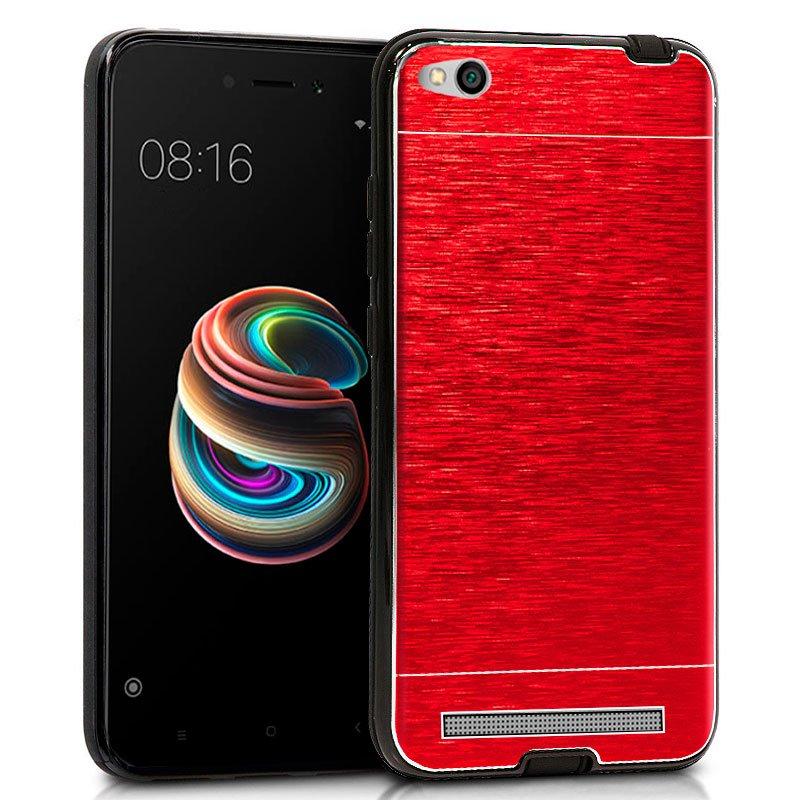 Carcasa Xiaomi Redmi 5A Aluminio (Rojo)