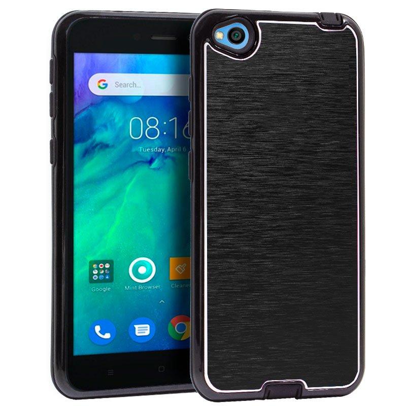 Carcasa Xiaomi Redmi Go Aluminio (Negro)
