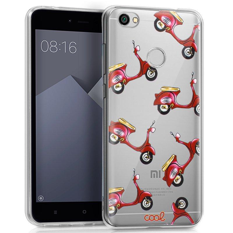 Carcasa Xiaomi Redmi Note 5A / Note 5A Prime Clear Motos