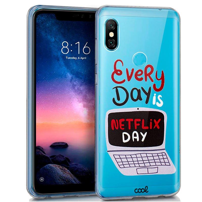Carcasa Xiaomi Redmi Note 6 Pro Clear Every Day