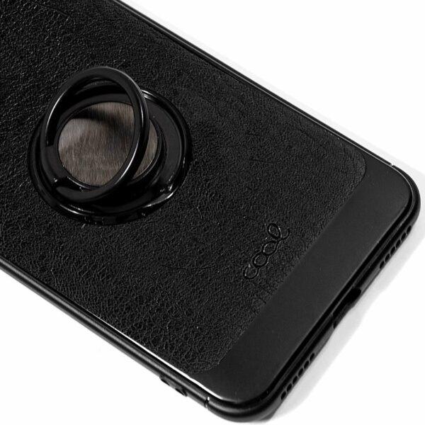 Carcasa Xiaomi Redmi Note 6 Pro Leather Piel Negro
