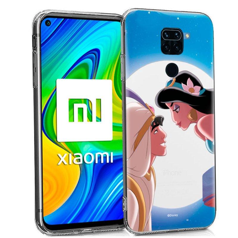 Carcasa Xiaomi Redmi Note 9 Licencia Disney Aladdin
