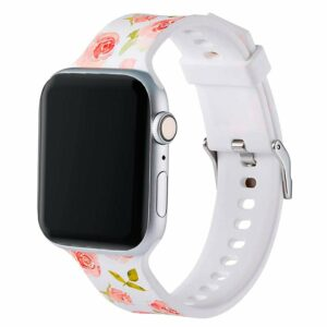 Correa Apple Watch Series 1 / 2 / 3 / 4 / 5 / 6 / SE (38 / 40 mm) Estampado Flores