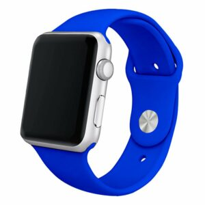 Correa Apple Watch Series 1 / 2 / 3 / 4 / 5 / 6 / SE (38 / 40 mm) Goma Azul