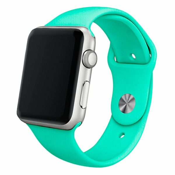 Correa Apple Watch Series 1 / 2 / 3 / 4 / 5 / 6 / SE (38 / 40 mm) Goma Mint