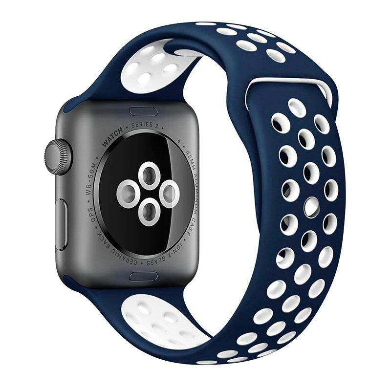 Correa Apple Watch Series 1 / 2 / 3 / 4 / 5 / 6 / SE (38 / 40 mm) Sport Azul
