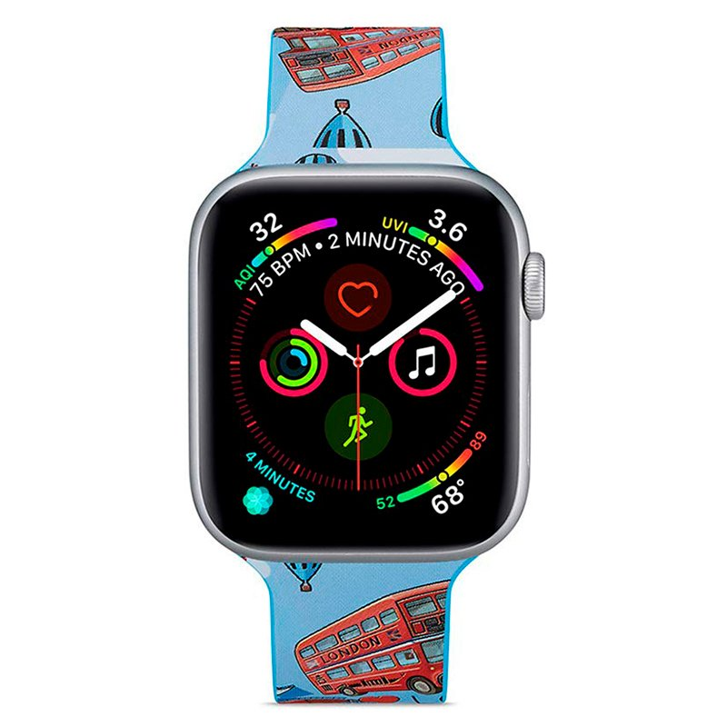 Correa Apple Watch Series 1 / 2 / 3 / 4 / 5 / 6 / SE (42 / 44 mm) Estampado London