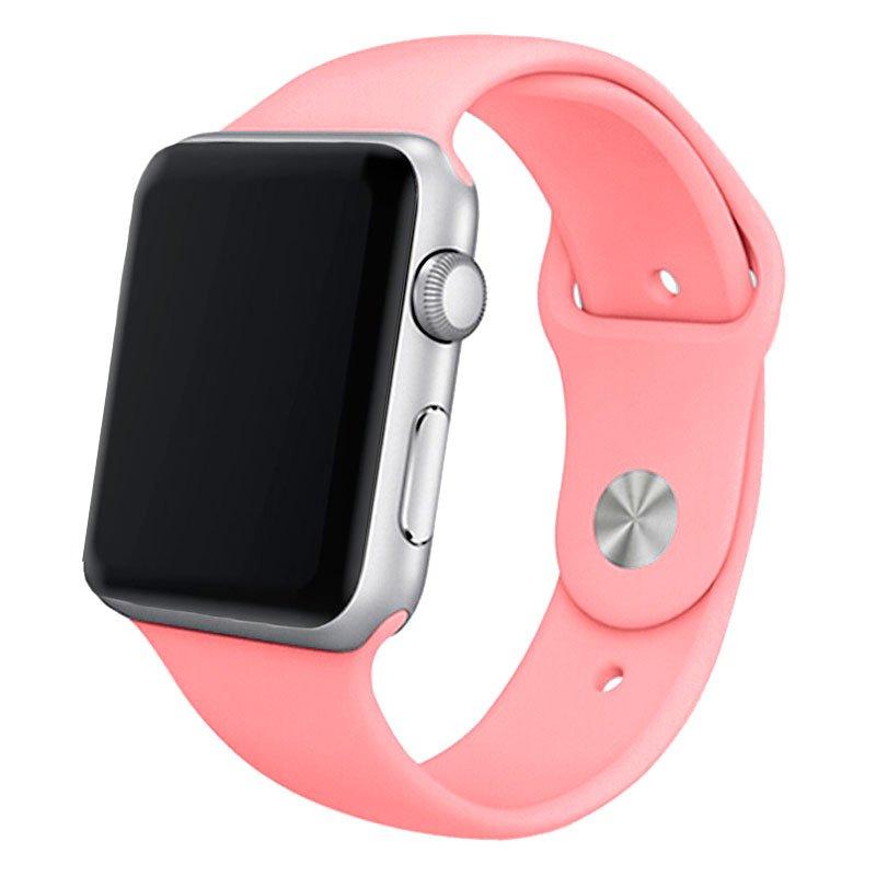 Correa Apple Watch Series 1 / 2 / 3 / 4 / 5 / 6 / SE (42 / 44 mm) Goma Rosa