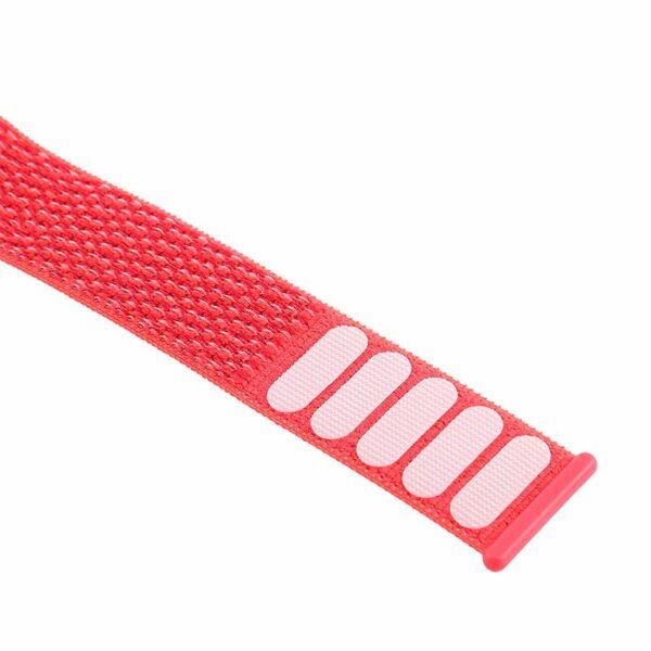 Correa Apple Watch Series 1 / 2 / 3 / 4 / 5 / 6 / SE (42 / 44 mm) Loop Nylon Rosa
