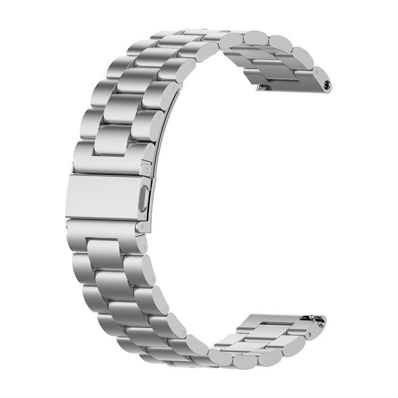 Correa Universal 20mm Amazfit Bip / GTS / Bip Lite / Huawei / Samsung / COOL Oslo Metal Plata