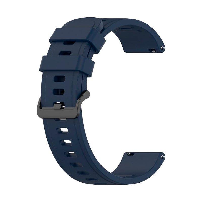 Correa Universal 22mm Amazfit GTR / Stratos / Huawei / Samsung / COOL Bristol Goma Azul