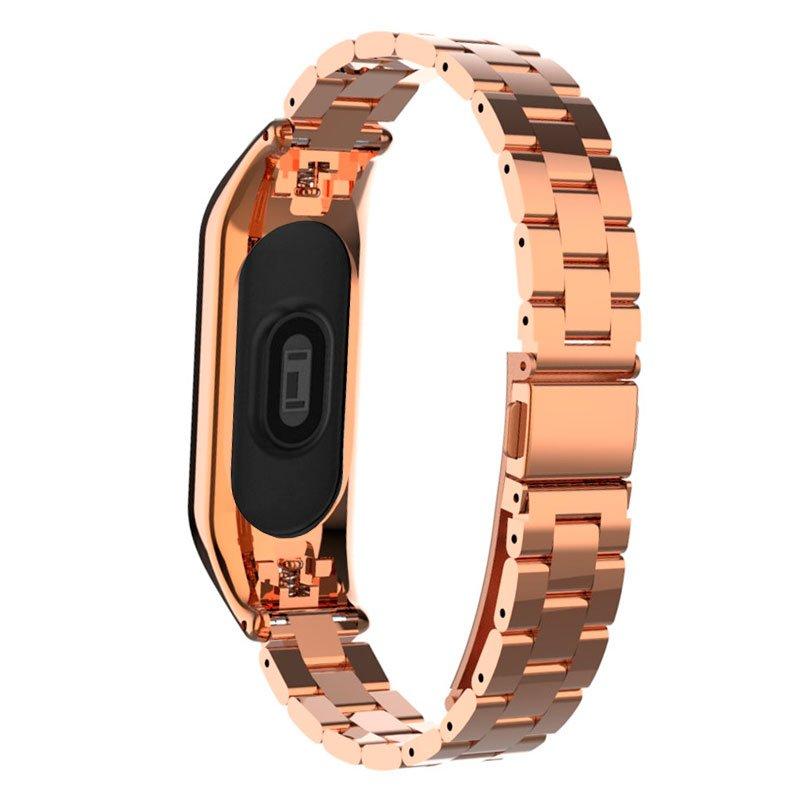 Correa Xiaomi Mi Band 4 / 3 Steel Oro Rosa