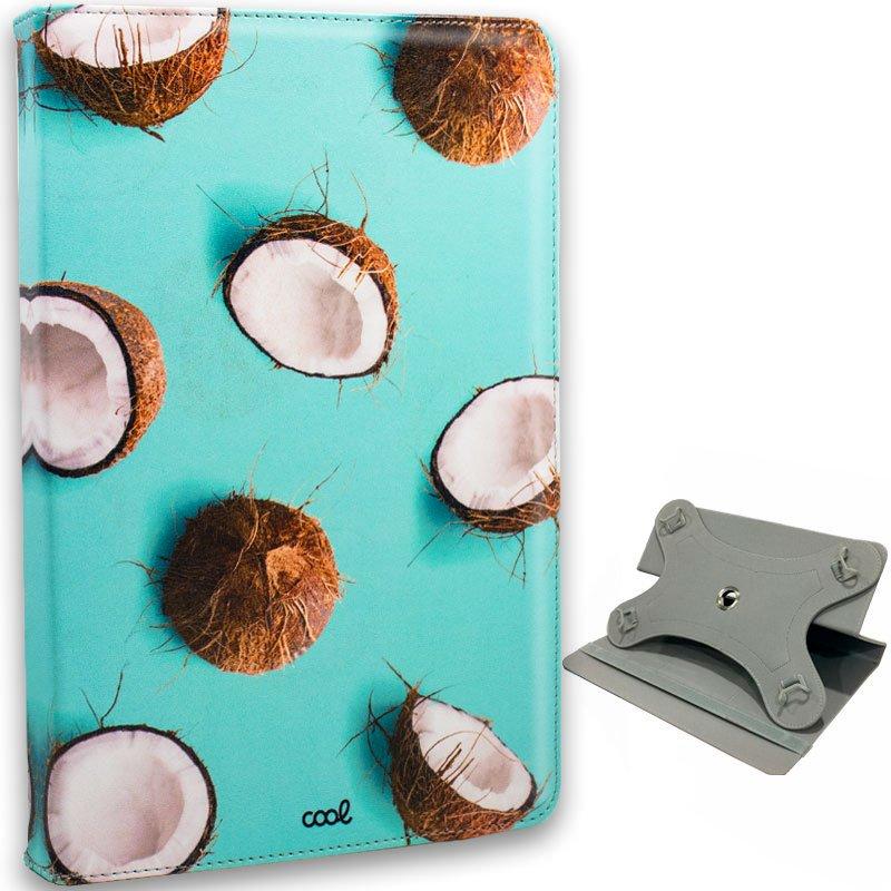 Funda Ebook Tablet 10 pulgadas Universal Dibujos Cocos