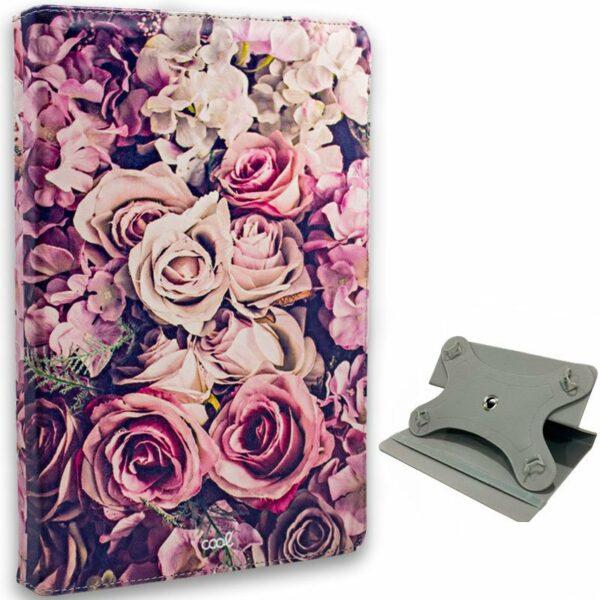 Funda Ebook Tablet 10 pulgadas Universal Dibujos Flores