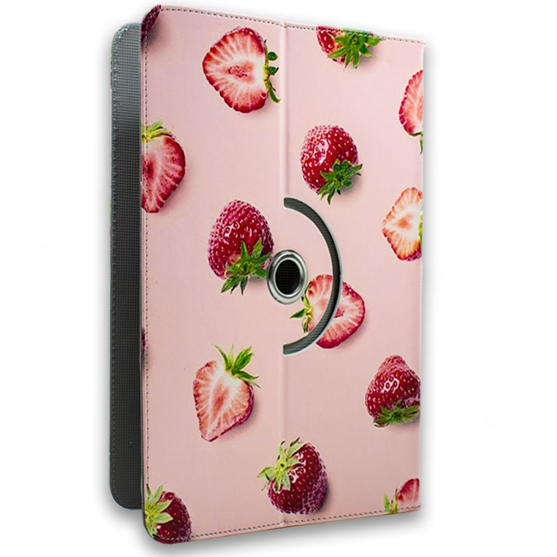 Funda Ebook Tablet 10 pulgadas Universal Dibujos Fresas