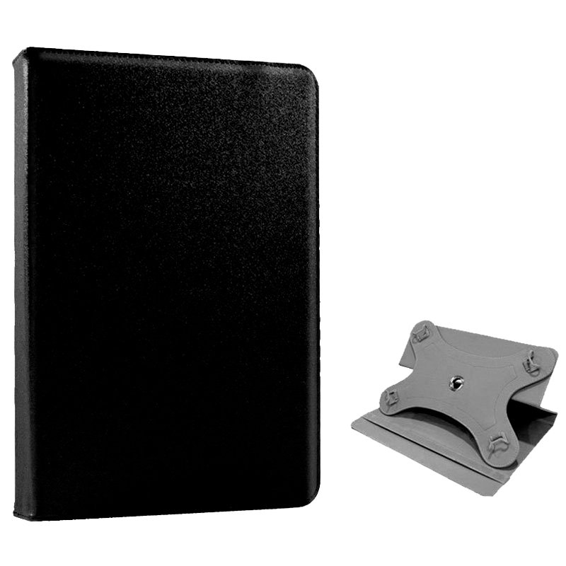 Funda Ebook / Tablet 7 pulg Polipiel Negro Giratoria