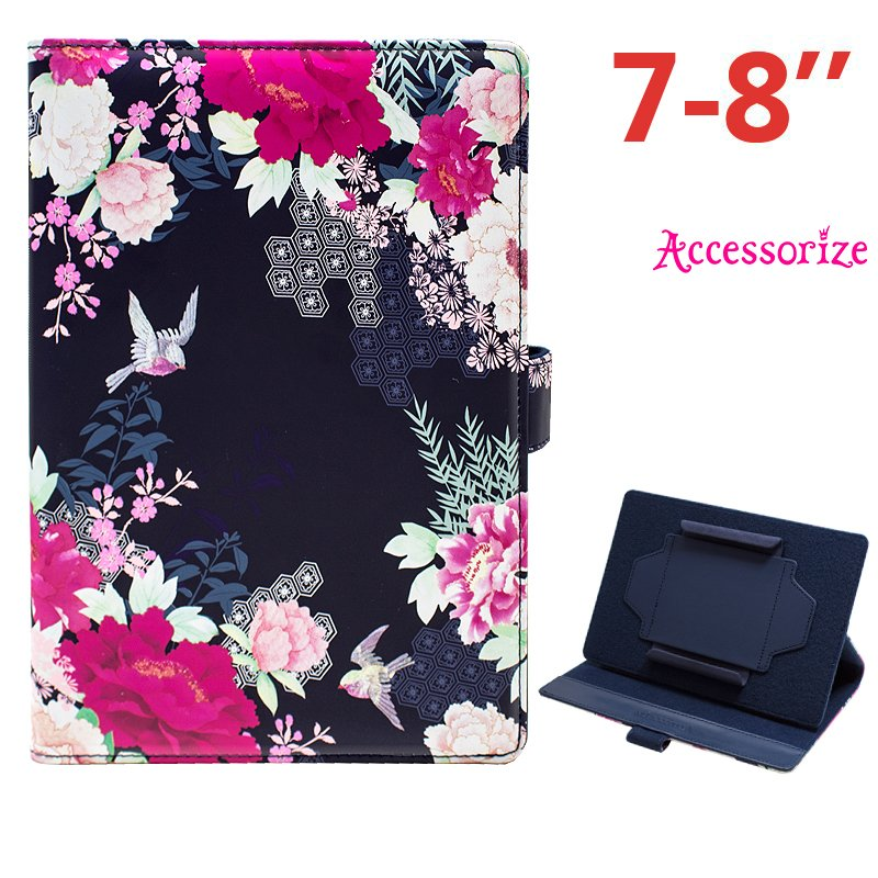 Funda Ebook / Tablet 7 pulgadas Universal Licencia Accessorize Flores