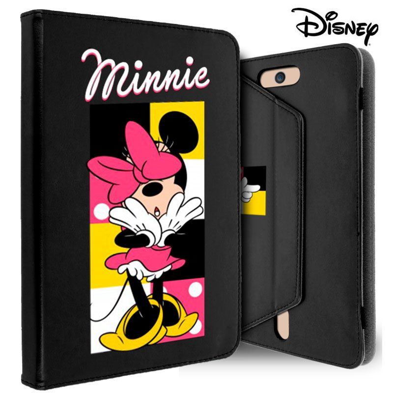 Funda Ebook / Tablet 7 pulgadas Universal Licencia Disney Minnie Negro