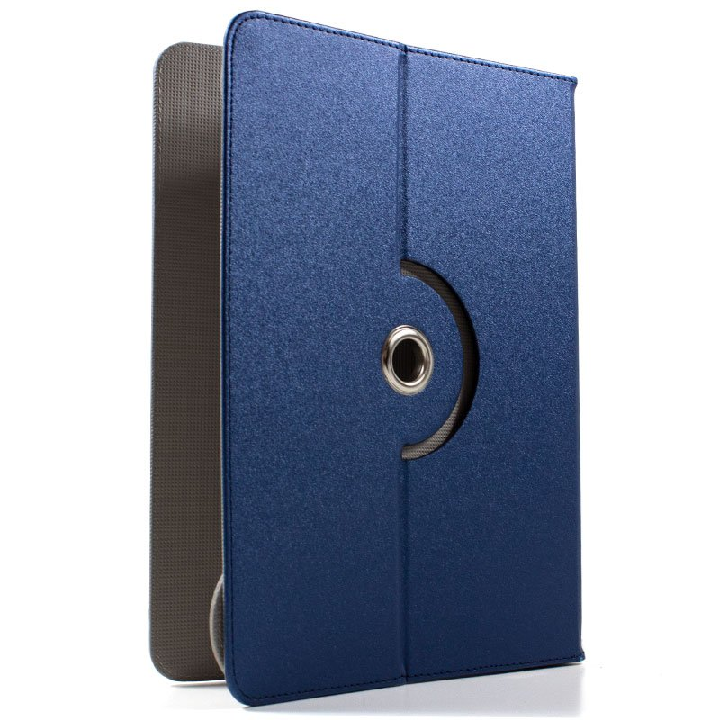 Funda Ebook / Tablet 8 pulgadas Liso Azul Giratoria