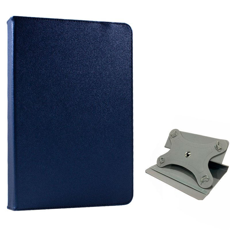 Funda Ebook / Tablet 8 pulgadas Liso Azul Giratoria