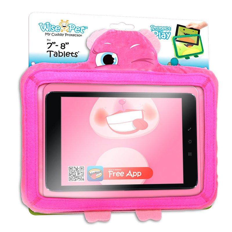 Funda Ebook / Tablet 8 pulgadas Universal Wise-Pet Rosy Rosa + App