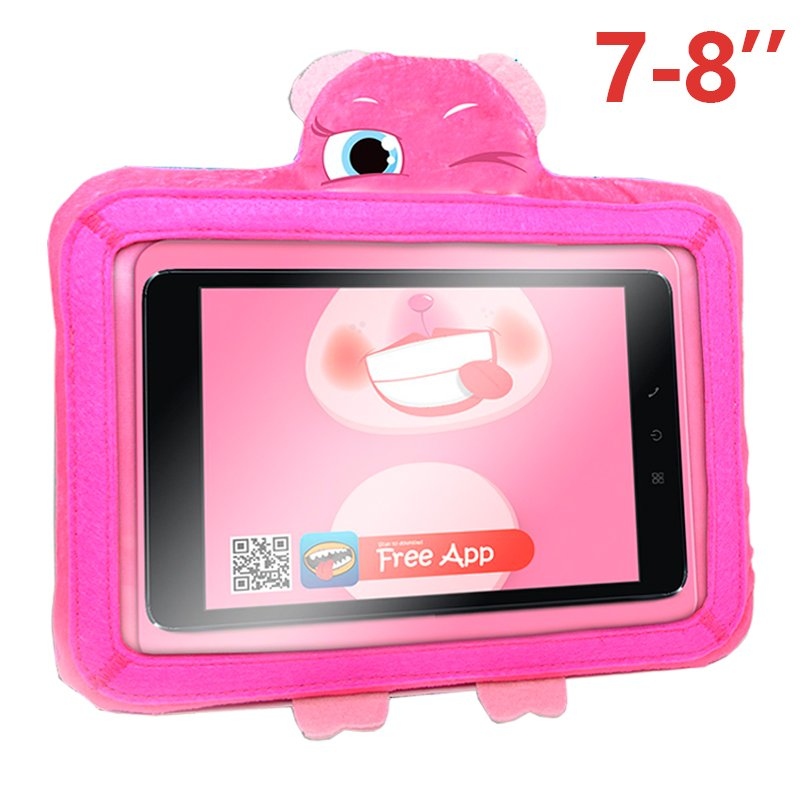 Funda Ebook / Tablet 8 pulgadas Universal Wise-Pet Rosy Rosa + App
